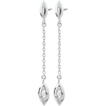 mariages Boucles d'oreilles Calissons - or blanc