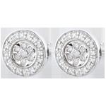 cadeau femmes Boucles d'oreilles Elsa - 22 diamants