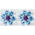 vente Boucles d'oreilles Fleurs des neiges