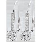 femme Boucles d'oreilles Venise - 20 diamants