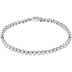 gift Boulier diamond bracelet-white gold - 2 carat - 52 diamonds