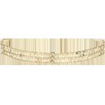 Bracciale Grazia - Oro giallo - 18 carati - 13 Diamanti