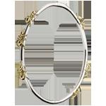 Bracelet Balade Imaginaire - Le Bal des Fourmis - or blanc et or jaune 18 carats