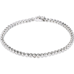 bijouteries Bracelet Boulier diamants - or blanc - 1.15 carats - 60 diamants