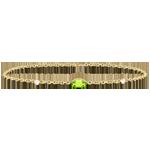 bijouterie Bracelet Regard d'Orient - péridot et diamants - or jaune 9 carats