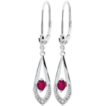 weddings Britanie Ruby Earrings