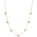 women Caliste Diamond Necklace