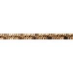 Catena a maglia Singapore ritorta - Oro giallo - 18 carati - 42 cm