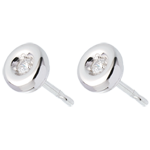on line sell Chalice diamond earrings white gold