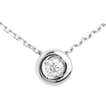 wedding Chalice diamond necklace