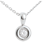 Chalice diamond pendant - 0.28 carat