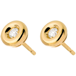 sales on line Chalice Diamond Stud Earrings yellow gold