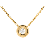 weddings Chalice necklace yellow gold
