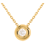gifts women Chalice necklace yellow gold