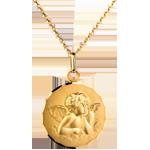 jewelry Classic Angel Raphael Medal - 20mm