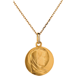 gifts woman Classic Blessed Virgin Medal - 15mm