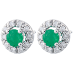 on line sell Clévia Emerald Earrings