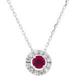 Clévia Ruby Necklace