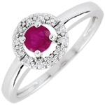 sell on line Clévia Ruby Ring - 18 carats
