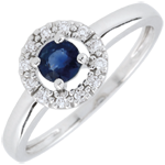 buy on line Clévia Sapphire Ring - 18 carats