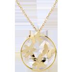 Collana Onda di primavera - Oro giallo - 9 carati