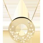 Collana Soffio di primavera - Oro giallo - 9 carati