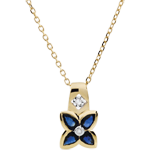 Online Verkauf Collier Belle étoile - Saphire