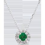 Juwelier Collier Clévia - Smaragd