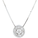 mariages Collier diamant Ludmila