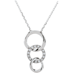 Collier Gala - or blanc 18 carats