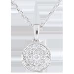 gioielleria Collier Mille Meraviglie - Oro Bianco - 18 carati - 25 Diamanti - 0.16 carati