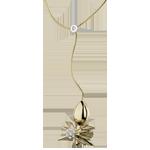kaufen Collier Spaziergang der Sinne - Spinnenkönigin - Gelbgold und Diamanten