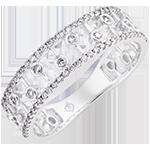 Destiny Ring - Philippine - 18K white gold and diamonds