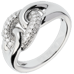 Diamant Ring Lien infini