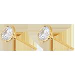 Juweliere Diamantohrringe Puppe in Gelbgold