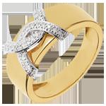 Geschenk Diamantring Double Je