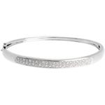 gifts woman Diorama bangle/bracelet - 0.25 carat - 23 diamonds