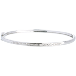wedding Diorama bangle/bracelet - 11 diamonds