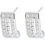buy on line Earrings Constellation - Zodiac - white gold and diamonds