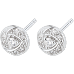 sell on line Earrings Destiny - Arthemis - white gold and diamonds