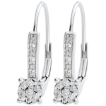 gift woman Earrings Venice - 20 diamonds