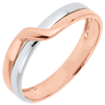 gift woman Eden Passion Wedding Ring - Pink gold