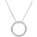 gift Elisée Necklace with21 diamonds