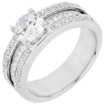 gifts woman Engagement Ring Destiny - Constance - white gold - 1 carat