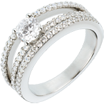 buy on line Engagement Ring Destiny - Duchess - 0.5 carat diamond center - 67 diamonds