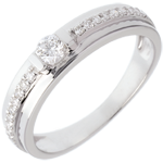 Engagement Ring Solitaire Destiny - Eugenie - 0.26 carat diamond