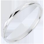 vendite on-line Fede nuziale Stratus - Oro bianco - 18 carati