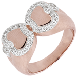 gift woman Freshness Ring - Apple of love - rose gold