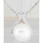 Hanger Adelie - kralen en Diamanten
