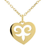 Heart-shaped Incantation Pendant